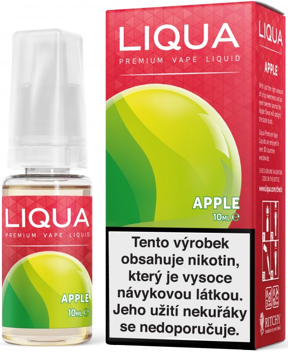 LIQUA CZ Elements Apple 10ml-12mg (jablko)