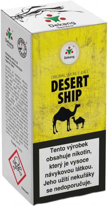 Desert ship 10ml - 18mg