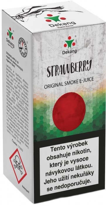 Strawberry 10ml - 18mg (Jahoda)