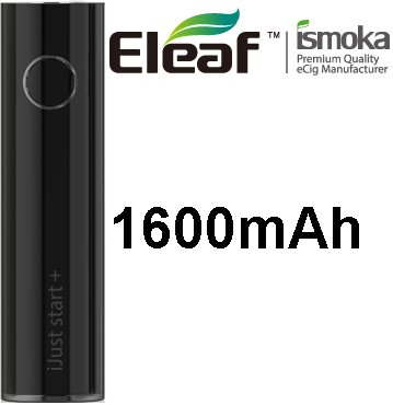 Baterie Eleaf iJust Start Plus 1600mAh Black