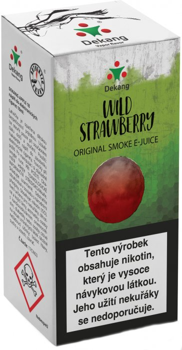 Wild Strawberry 10ml - 18mg (Lesní jahoda)