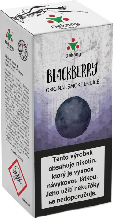 Blackberry 10ml - 18mg (Ostružina)