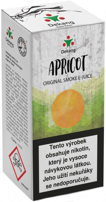 Apricot 10ml - 11mg (Meruňka)