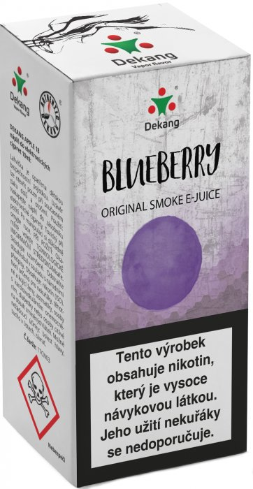 Blueberry 10ml - 11mg (Borůvka)