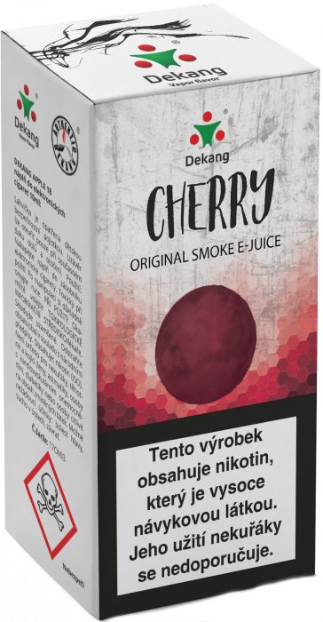 Cherry 10ml-18mg (Třešeň)