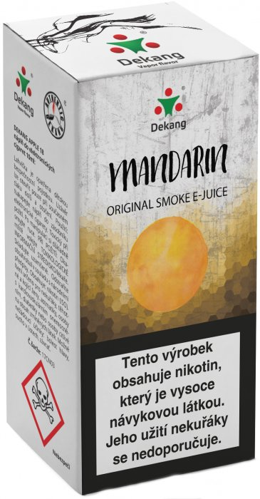Mandarin 10ml - 18mg (mandarinka)
